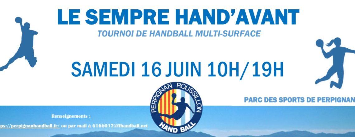 TOURNOI LE SEMPRE HAND AVANT 16 JUIN 2018