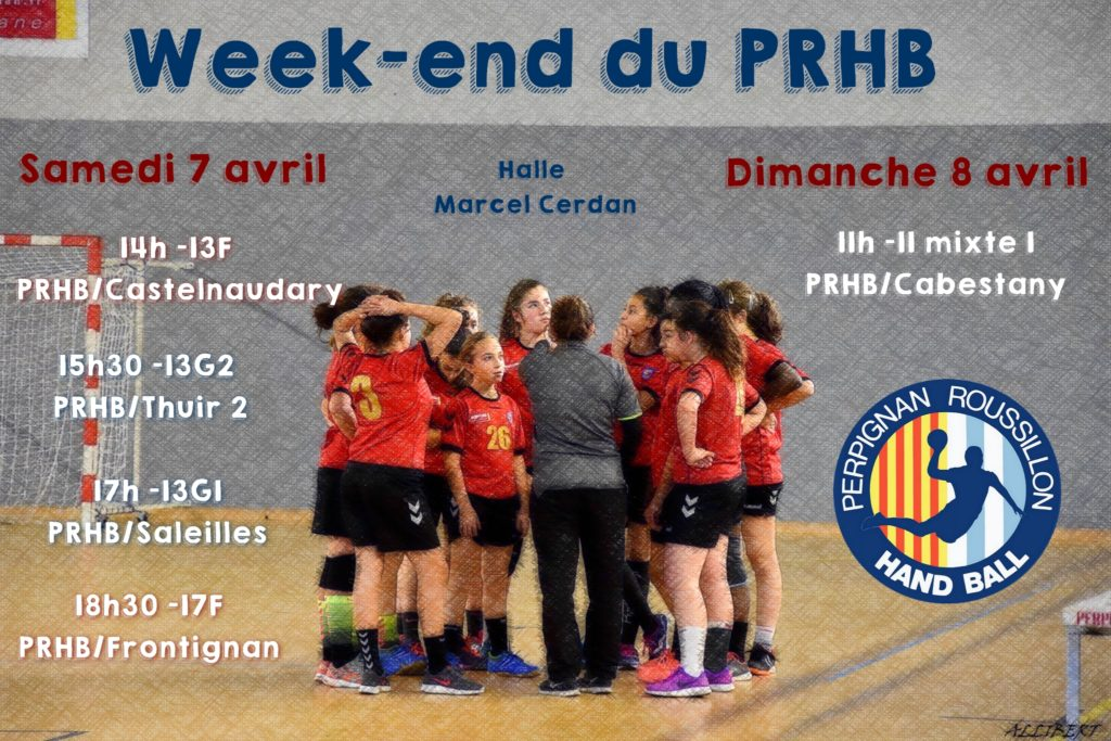 week end du 7 avril