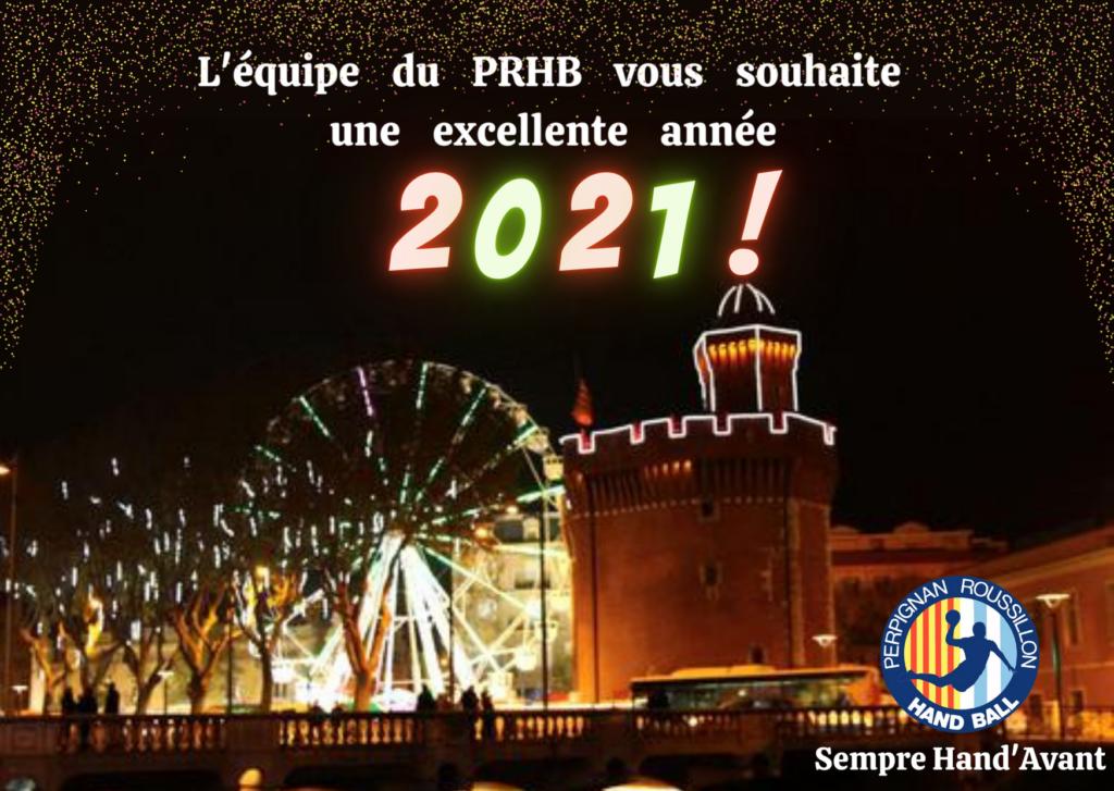 Carte de vœux 2021 - PRHB