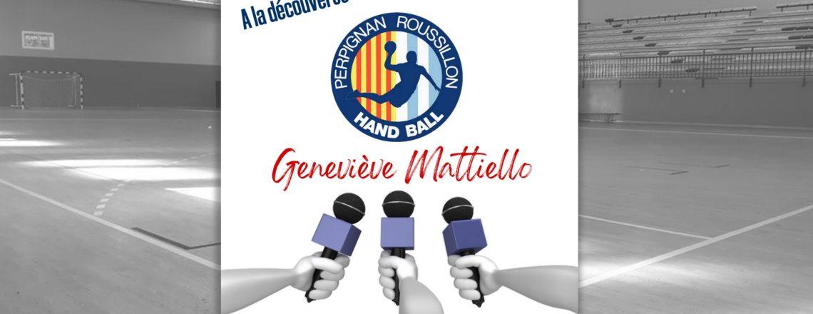A la découverte de Geneviève Mattiello
