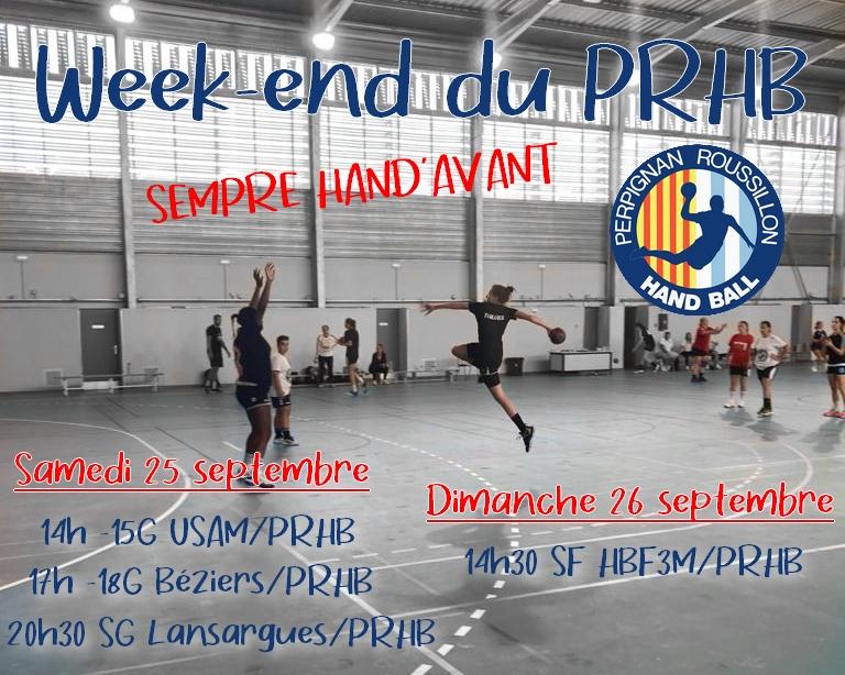 week-end premiers matchs septembre2