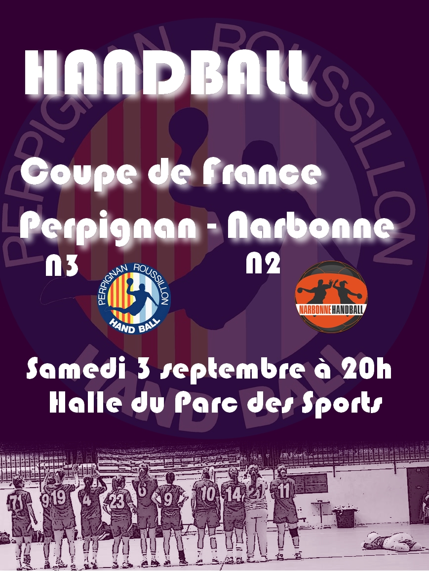 Affiche match narbonne